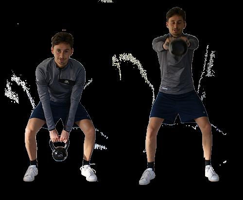 Drie kettlebell oefeningen voor beginners
