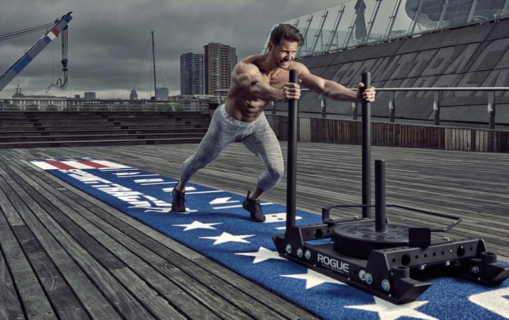 Kunstgras Fitness Heavy Sprinttracks