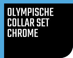 Olympische Collar Set Chrome