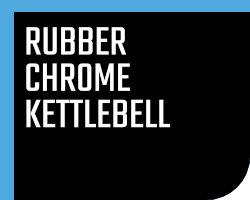 Rubber / Chrome Kettlebell