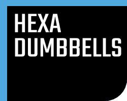 Hexagonale Dumbbells