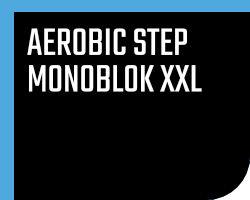 Aerobic step monoblok xxl