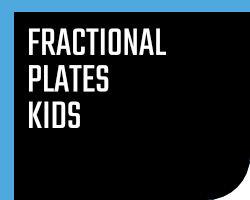 Fractional Plates Kids