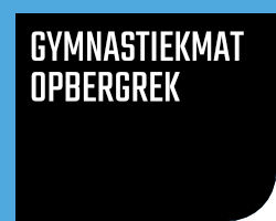 Gymnastiekmat Opbergrek