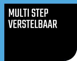 Multi step verstelbaar