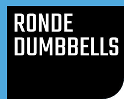 Ronde Rubber Dumbbells