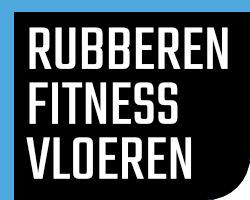 Rubberen fitness vloeren