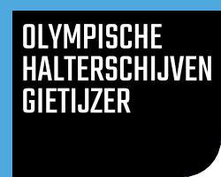 Olympische Halterschijven Gietijzer