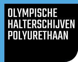 Olympische Halterschijven Polyurethaan