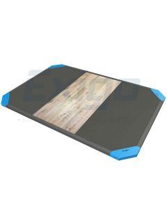 Exigo 3×2 Mtr Oak / Rubber Lifting Platform