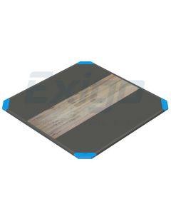 Exigo 3×3 Mtr Oak / Rubber Lifting Platform