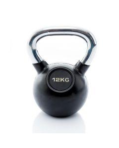 Kettlebell Rubber/Chrome 12 kg