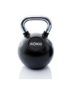 Kettlebell Rubber/Chrome 40 kg