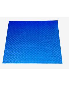 Puzzelmat 100 x 100 cm 2.5 cm dik blauw/rood