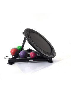 Medicine ball rebounder