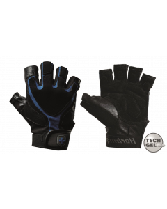 Harbinger Men's Training Grip Fitness Handschoenen - Zwart/Blauw