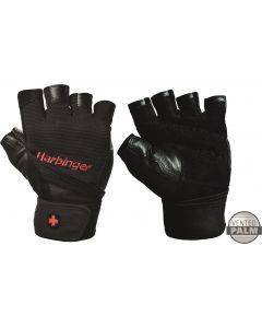 Harbinger Men's Pro Fitness Handschoenen met Wrist Wrap