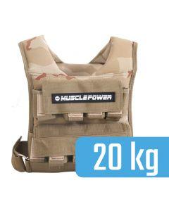 Gewichtsvest 20 kg MP1217-camou