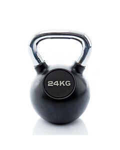 Kettlebell Rubber/Chrome 24 kg