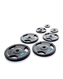 50 mm Zwarte Halterschijven van rubber MP800