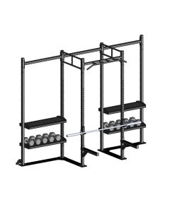Crossfit Station vrijstaand model indoor MPPC-1216-0006 met skidplates
