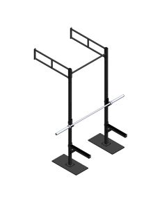 Crossfit Station wandmodel indoor MPPC-1112-0005 met skidplates