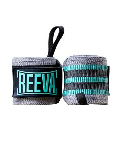 Reeva wrist wraps blue