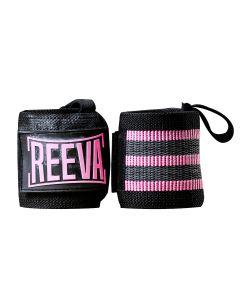 Reeva wrist wraps pink