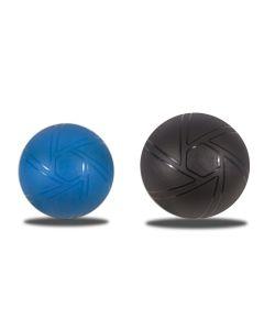 Muscle Power Yogaball, Gymball blauw en zwart