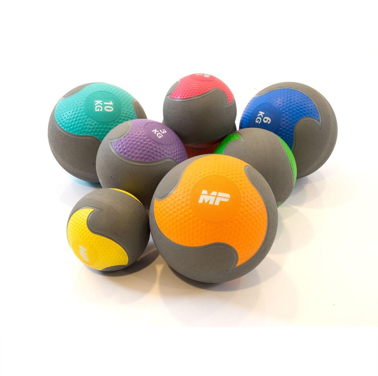 rubber medicijnballen 1 10 kg per stuk mp1008 muscle powerrubber medicijnballen 1kg 2kg 3kg 4kg 5kg 6kg 8kg en 10kg per stuk leverbaar mp1006