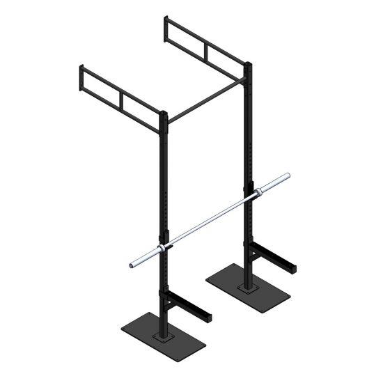 Crossfit Station wandmodel indoor MPPC-1112-0005 met skidplates