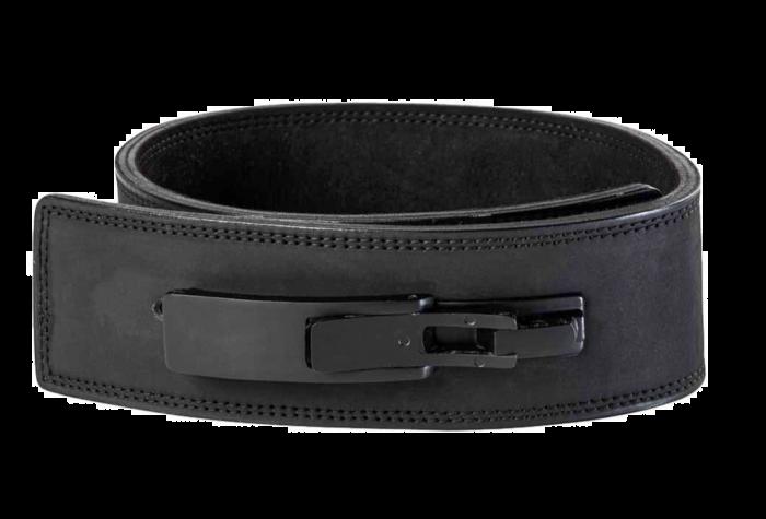 Reeva Black Leather Lifting Belt