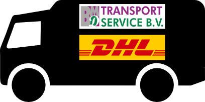 Onze partners in de verzending, BMD transport en DHL